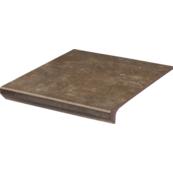 Плитка для ступеней Paradiz  ILARIO 33.0х30.0, коричневый, с капиносом