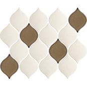 Плитка-декор настенный Paradyz Mistysand 26.5х20.2, crema mozaika mix