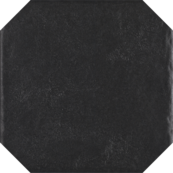 Настенная плитка Paradyz Modern 19.8х19.8, gres nero struktura octagon