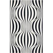 Плитка-декор настенный Paradyz Vivian 40x25, Nero, Fala