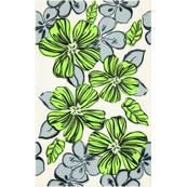 Плитка-декор настенный Paradyz Vivian 40x25, Verde, Kwiat
