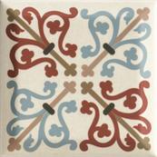 Плитка-декор настенный Paradyz Forcados 9.8х9.8, beige dekor A