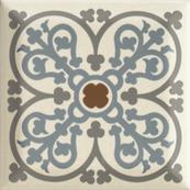 Плитка-декор настенный Paradyz Forcados 9.8х9.8, beige dekor C
