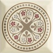 Плитка-декор настенный Paradyz Forcados 9.8х9.8, beige dekor D