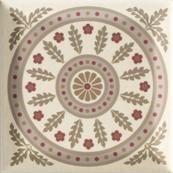 Плитка-декор настенный Paradyz Forcados 9.8х9.8, beige dekor E