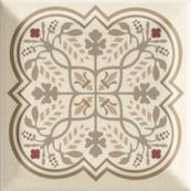 Плитка-декор настенный Paradyz Forcados 9.8х9.8, beige dekor F