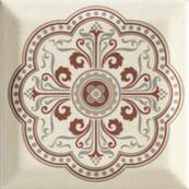 Плитка-декор настенный Paradyz Forcados 9.8х9.8, beige dekor G