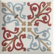 Плитка-декор настенный Paradyz Forcados 9.8х9.8, grys dekor A