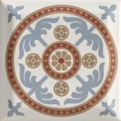 Плитка-декор настенный Paradyz Forcados 9.8х9.8, grys dekor B