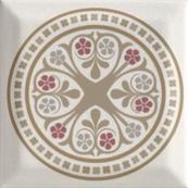 Плитка-декор настенный Paradyz Forcados 9.8х9.8, grys dekor D