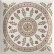 Плитка-декор настенный Paradyz Forcados 9.8х9.8, grys dekor E