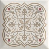 Плитка-декор настенный Paradyz Forcados 9.8х9.8, grys dekor F