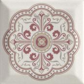 Плитка-декор настенный Paradyz Forcados 9.8х9.8, grys dekor G