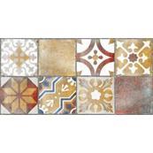 Плитка Декор Нефрит Керамика Лофт 3 40x20, бежевый