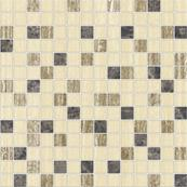 Плитка-мозаика настенная Керамин Манхэттен 30х30, 3 бежевый