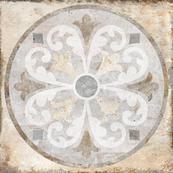 Напольная плитка-декор Belani Палаццо / Palazzo GP oliv 41,8х41,8 бежевый