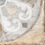 Напольная плитка-декор Belani Палаццо / Palazzo GP oliv 3 41,8х41,8 бежевый