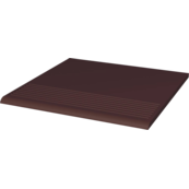 Напольная плитка Paradyz Natural 30х30, brown, ступень