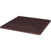 Напольная плитка Paradyz Natural 30х30, brown, ступень наружная