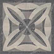 Плитка-панно универсальное Paradyz Mistral 119.6x119.6, Grys