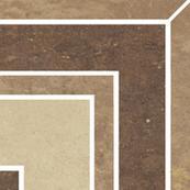 Вставка Paradyz Mistral 9.8x9.8, Beige