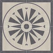 Плитка-панно универсальное Paradyz Arkesia 89.6x89.6, Grys, Rozeta