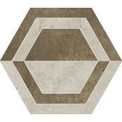 Плитка-декор универсальный Paradyz Scratch 29.8x26, Beige, Heksagon, B