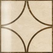 Плитка-декор напольный Italon Charme 60x60, Cream Loop