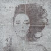 Плитка-панно настенное Tubadzin Zien Berlin 119.8x119.8, Marylin