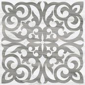 Плитка-декор напольный Vitra Palissandro 60х60, серый ЛПР