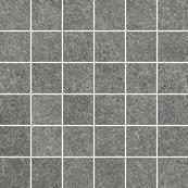 Плитка-мозаика универсальная Paradyz Flash 29.8x29.8, Grafit, резанная, полуполированная