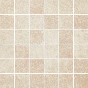 Плитка-мозаика универсальная Paradyz Flash 29.8x29.8, Bianco, резанная, полуполированная