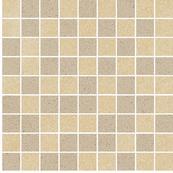 Плитка-мозаика универсальная Paradyz Arkesia 29.8x29.8, Beige/Brown, резанная