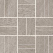 Плитка-мозаика универсальная Paradyz Masto 29.8x29.8, Grys, резанная, B