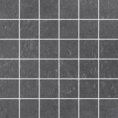 Плитка-мозаика универсальная Paradyz Obsidiana 29.8x29.8, Grafit, резанная