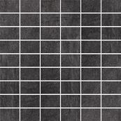 Плитка-мозаика универсальная Paradyz Taranto 29.8x29.8, Grafit, резанная