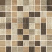Плитка-мозаика универсальная Paradyz Maloe 29.8x29.8, резанная