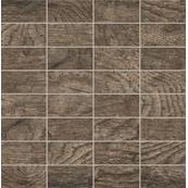 Плитка-мозаика настенная Tubadzin Traviata 30.3x30.8, Brown