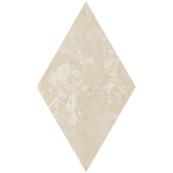 Плитка-декор напольный Paradyz Cotto 14.6x25.2, Crema, Romb