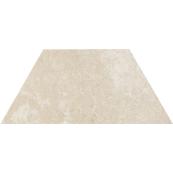 Плитка-декор напольный Paradyz Cotto 29.6x12.6, Crema, Trapez