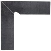 Бордюр Paradyz Bazalto 30x30 (30x8.1), Grafit, Cokol