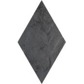 Плитка-декор напольный Paradyz Semir 14.6x25.2, Grafit, Romb