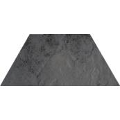 Плитка-декор напольный Paradyz Semir 29.6x12.6, Grafit, Trapez