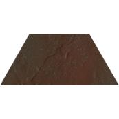 Плитка-декор напольный Paradyz Semir 29.6x12.6, Brown, Trapez