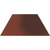 Плитка-декор напольный Paradyz Cloud 29.6x12.6, Rosa, Trapez