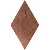 Плитка-декор напольный Paradyz Taurus 14.6x25.2, Brown, Romb