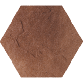 Напольная плитка Paradyz Taurus 26x26, Brown, Heksagon