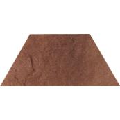 Плитка-декор напольный Paradyz Taurus 26.6x12.6, Brown, Trapez