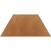 Плитка-декор напольный Paradyz Aquarius 29.6x12.6, Brown, Trapez