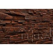 Декоративный Камень Petra Дамаск Настенная, угол 25,5x9, оранжевый